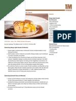 Mango-Apfel-Strudel mit Karamell-Sauce » Print