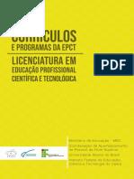 Curriculos e Programas - Livro