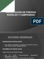 Subdivisión e Independización de Predios Rurales ENVIAR
