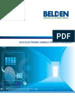 Belden 2019 Electronic Handle Product Catalog