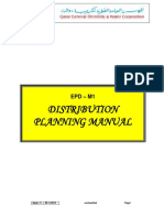 Kahramaa Distribution Planning Manual Issue 4