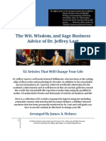 The Wit Wisdom Sage Business Advice Dr Jeffrey Lant