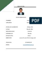 Hoja De Vida Jorge Julián Ramírez 1