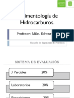 Primer parcial Sedimentología