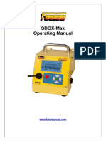 SBOX-Max Operating Manual