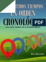 Los Últimos Tiempos en Orden Cronológico - Ron Rhodes