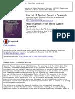 Modeling Hacktivism Using System Dynamics