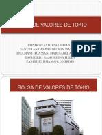 DIAPOSITIVA BOLSA DE VALORES DE TOKIO (MARLENY)