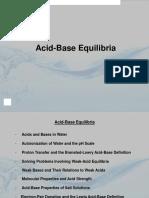 CHEM2-LEC4 Acid Base Equilibria