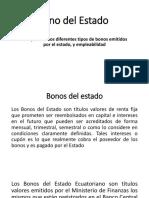 Bono Del Estado
