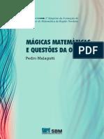 Mágicas matemáticas e questões da OBMEP