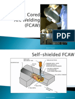 Day 6  Welding process, Electrode - FCAW, GTAW & SAW
