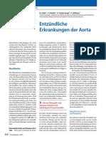 Entzündliche Erkrankungen der Aorta