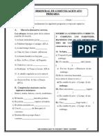EXAMEN BIMESTRAL DE COMUNICACIÓN  Y GEOMETRIA 5TO PRIMARIA