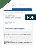 Envío Automático - Constancia de Giros Nacionales - BCP