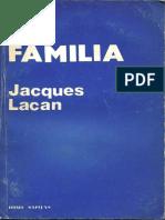 Lacan, J. La familia [Jacques Lacan]