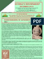 Govinda's E-Nieuwsbrief 2010_12