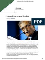 Desenvolvimento como Liberdade _ Blog Cidadania & Cultura