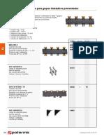 Colectores de distribucion Separadores hidraulicos