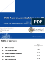 Alsopp IPSAS a Case for Accounting Reform at the OAS