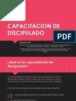 CAPACITACION DE DISCIPULADO