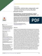 antioxidant propolis