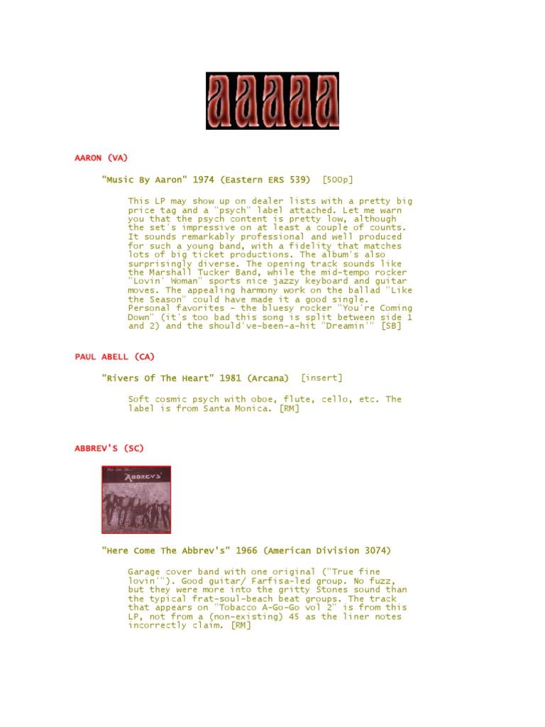 Acid Archives  fdd02c45c