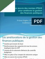 Hughes La mise en œuvre des normes IPSAS pour améliorer la gestion  des finances publiques