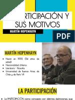 LA PARTICIPACIÓN Y SUS MOTIVOS