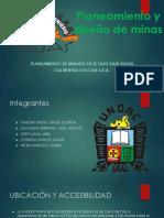 Planeamiento y diseño de minas.pptx