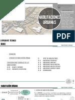 1.A. HABILITACIONES URBANAS