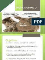 lenguaje quimico