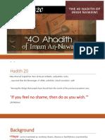 hadeeth 20