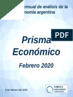 Revista Digital Prisma Económico - Febrero 2020