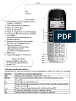 Manual del telefono inalambrico gigaset