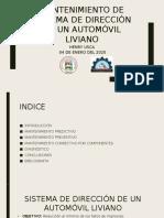 MANTENIMIENTO DE SISTEMA DE DIRECCIÓN DE UN AUTOMÓVIL.pptx