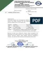 Surat Pengantar Asesor Smg 4-8 Maret 2020