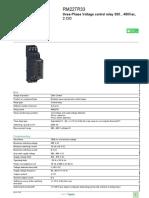 Zelio Control Relays_RM22TR33
