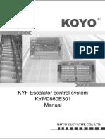 KOYO Escalator  Mainboard Manual book