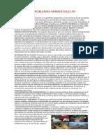 PRINCIPALES PROBLEMAS AMBIENTALES EN GUATe