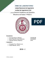 411757279-Informe-de-Laboratorio COEFICIENTES DE DESCARGA Y  CV