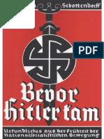 Rudolf von Sebottendorf - Bevor Hitler kam