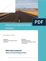 A New Economic Agenda for Nevada - Final Report