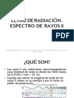 TEMA 3 EL HAZ DE RADIACION. ESPECTRO DE RAYOS X-convertido (1)