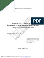 IMPORTANCIA DE LA ANISOTROPIA EN LA CARACTERIZACION DE YACIMIENTOS DE HIDROCARBUROS Y EN LA OPTIMIZACION DEL RECOBRO FINAL