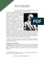 Schumpeter y Democracia