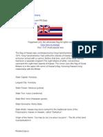 Hawaii State Flag History