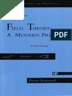 Pierre Ramond - Field Theory A Modern Primer