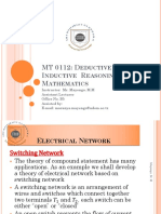 MT 0112 Lecture5 Electrical Network
