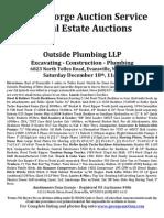 Outside Plumbing Auction